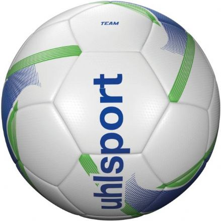 Uhlsport Team White / Blue / Fluo Yellow Size 4 Training Ball